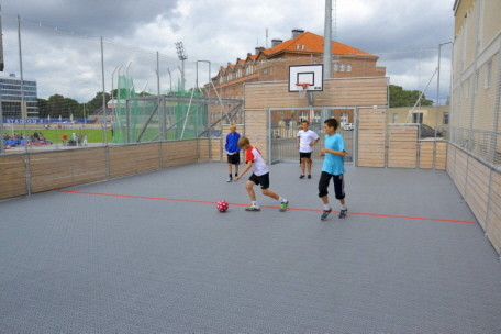 Sportplatz - Bolzplatz - Soccer Arena - Basketball for fun - Jugendtreff